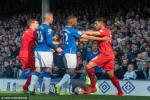 Everton và Liverpool bất phân thắng bại ở derby vùng Merseyside