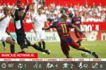 Neymar chạm mốc mới trong ngày Barca thua nhục Sevilla