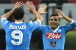 Video clip bàn thắng: AC Milan 0-4 Napoli (Vòng 7 Serie A 2015/2016)