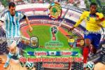 TRỰC TIẾP Argentina 0-0 Ecuador (Hiệp 2): Chủ nhà trông cả vào Tevez và Di Maria
