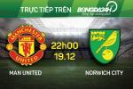 M.U 1-2 Norwich (Ket thuc): Quy do lai thua nhuc, Van Gaal chuan bi ra duong