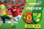 M.U vs Norwich (22h 19/12): Dung lam noi dau them dai!