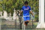 Động tác nhảy dây siêu ngố của tiền vệ Tuấn Anh ở U23 Việt Nam