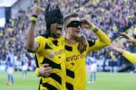 Cong thuc chien thang cua Dortmund: Reus + Aubameyang = 3 diem!