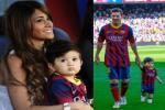 Con trai có ý nghĩa cực to lớn với Messi trong sự nghiệp