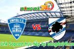 Link sopcast Empoli vs Sampdoria (17h30-24/05)
