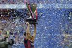 Hình ảnh Barcelona ăn mừng chức vô địch La Liga 2014-2015