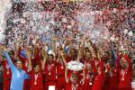 Lễ đăng quang Bundesliga 2014-2015 của Bayern Munich