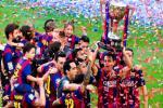 Luis Enrique bất ngờ khiêm tốn dù Barca vô địch La Liga 2014/2015