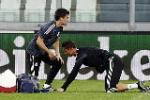 Ronaldo dính chấn thương lưng trước trận bán kết với Juventus?