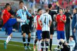 Thien tai Messi bi do te Medel da kungfu tung nguoi