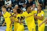 Huy diet doi thu voi ti so khong tuong, Dortmund vao vong bang Europa League