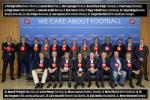 """Những """"ông lớn"""" tái ngộ trong cuộc họp UEFA"""