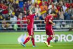 Jordi Alba tro thanh hau ve ghi ban nhieu thu 4 cho DT Tay Ban Nha