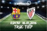 Barcelona 6-0 Bilbao (KT): Qua de qua dam da