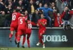 Tong hop: Swansea 1-2 Liverpool (Vong 7 Premier League 2016/17)