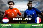 Ha Lan 0-1 Phap: Sieu pham cua Paul Pogba