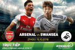 Arsenal 3-2 Swansea (KT): Chien thang dau tim