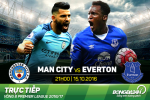 Man City 1-1 Everton (KT): Sut truot 2 qua 11m, Man xanh hoa dang quen