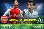 Arsenal 6-0 Ludogorets (KT): Ozil thang hoa trong ngay hoi tennis cua dan Phao thu
