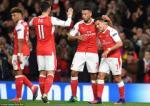 Xem lai tran dau Arsenal 6-0 Ludogorets (Bang A Champions League 2016/17)