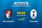 Bournemouth vs Tottenham (18h30 ngày 22/10): Tiếp tục hụt bước?