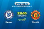 Chelsea vs MU (22h ngay 23/10): Mou ve trong con mo