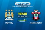 Man City vs Southampton (19h30 ngày 23/10): Những người cùng khổ
