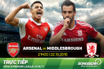 Arsenal 0-0 Middlesbrough (KT): Phao thu im tieng tren Emirates