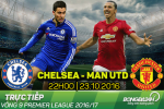 Chelsea 4-0 MU (KT): Ngày về thê thảm của Jose Mourinho