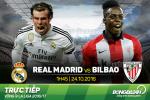Real Madrid 2-1 Bilbao (KT): Ronaldo quá vô duyên, Los Blancos thắng sát nút