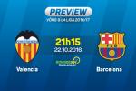 Valencia vs Barca (21h15 ngày 22/10): Ai cản nổi Messi?