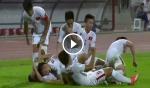 U19 Việt Nam sung sướng tột bậc sau khi lập kỳ tích