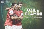 Mesut Ozil va Mathieu Flamini: Hon ca mot tinh ban dep
