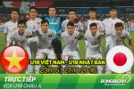 TRỰC TIẾP U19 Việt Nam 0-2 U19 Nhật Bản (Hiệp 1): Thế trận lép vế