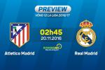 Atletico vs Real Madrid (2h45 ngay 20/11): Khi Zidane hoa thanh Simeone