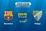 Barca vs Malaga (22h15 ngay 19/11): Quan trong la chien thang!