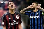 Derby Milano: Ngay 'Ronaldo' tai dau 'Batistuta'