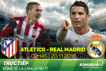 Atletico 0-3 Real Madrid (KT): Hat-trick kho tin cua Ronaldo