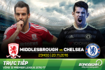 Middlesbrough 0-1 Chelsea (KT): Noi dai mach thang hoa, The Blues bay len ngoi dau