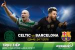 Celtic 0-2 Barca (KT): Messi lap cu dup, Blaugrana luot qua vong bang bang vi tri so 1