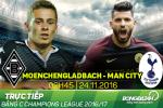 Monchengladbach 1-1 Man City (KT): Dai thieu gia nhe nhang buoc tiep