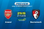 Arsenal vs Bournemouth (21h15 ngay 27/11): Nhung giot mo hoi doi lay chien thang