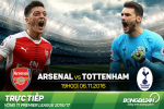 Arsenal 1-1 Tottenham (KT): Derby thieu lua