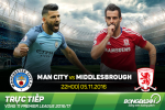 Man City 1-1 Middlesbrough (KT): Mat diem phut chot, Man xanh choi voi tren ngoi dau