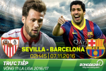 Sevilla 1-2 Barca (KT): Cai duyen cua Messi giup Blaugrana mo hoi tai xu Andalusia