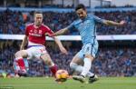 Du am Man City 1-1 Middlesbrough: Su that vong mang ten Gundogan