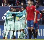 Tong hop: Osasuna 0-3 Barca (Vong 15 La Liga 2016/17)