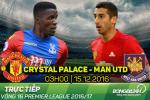 Crystal Palace 1-2 MU (KT): Ibra vs Pogba chung tay cuu roi Quy do