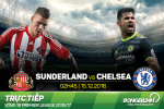 Sunderland 0-1 Chelsea (KT): Fabregas giup The Blues cung co ngoi dau